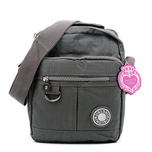 Women Tote Messenger Cross Body Handbag Hobo Bag Ladies Shoulder Bag Purse New (2018 Grey)