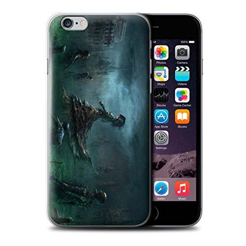Offiziell Chris Cold Hülle / Case für Apple iPhone 6S / Sonnengott/Reben Muster / Unterwelt Kollektion Banshee/Hexe-Königin