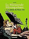 Le Minuscule Mousquetaire, tome 1 : L'Académie des Beaux-Arts par Sfar