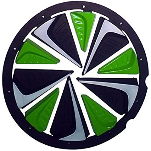 Exalt Paintball Rotor Fast Feed - Black / Lime / White by Exalt