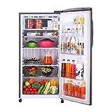 LG 215 L 5 Star Inverter Direct Cool Single Door Refrigerator (GL-B221APZY, Shiny Steel)