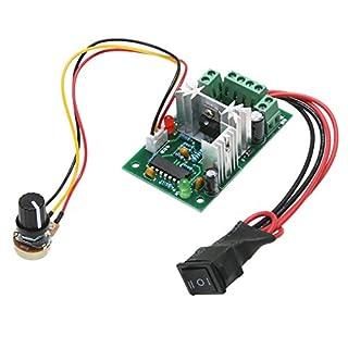 Amazingdeal 120W PWM Adjustable Volt DC Motor Speed Controller CCM2s 10V 12V 24V 30V