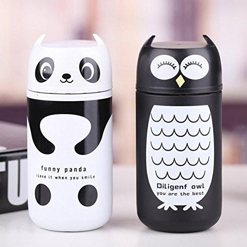 aliciashouse-carino-panda-gufo-thermos-220ml-in-acciaio-inox-tazza-di-vuoto-travel-mug-gufo