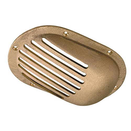 """Perko 3-1/2"""" X 2-1/2"""" Scoop Strainer Bronze Made In The Usa"""
