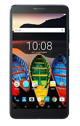 Lenovo Tab3 7 Plus Tablet (7-inch, 16GB, Wi Fi + 4G LTE, Voice Calling), Slate Black