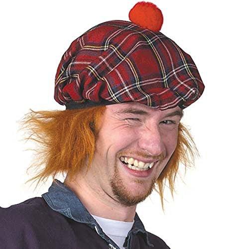 Scottish See You Jimmy' Hat - Tartan Tammy - Tam O Shanter by Scottish Collection