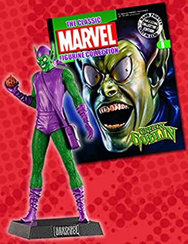 Marvel Figurine Collection #8 Green Goblin (Die X-men Kostüme)