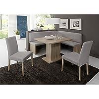 Eckbank Eckbankgruppe Essgruppe CHARLSON Essecke Bank Tisch 2 Stühle Eiche