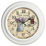 Gardman Uhr'Newgate Station', weiß, 32x8x32 cm, 17231