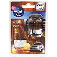 Ambi Pur Car Deodorante per Auto, Anti Tabacco con 1 Ricarica, 7 (Profumata Auto Deodoranti)