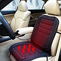 XtremeAuto® 12v Universal Heated Car Heater Seat Hot Cushion Cover Complete with XtremeAuto Sticker