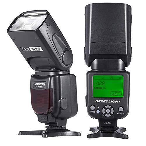 Andoer 960 II Blitzlicht Manueller Zoom für Nikon Canon Pentax DSLR Kamera