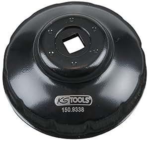 KS Tools 150.9338 Clé pour filtre à huile 76 mm