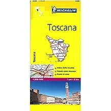 Mapa Local Italia Toscana (Mapas Local Michelin)