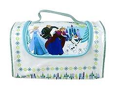 Idea Regalo - Markwins Disney Frozen La Regina di ghiaccio grosse Make Up tasche con chiusura lampo e trucchi Set, 1er Pack (1X 1pezzi)