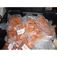Rot Gummi fassverschluss Solide 11mm (Zehn Stück)
