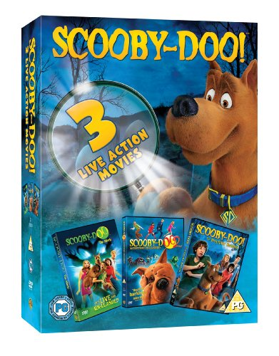 Scooby-Doo Live Action Movie Triple Pack [UK Import]