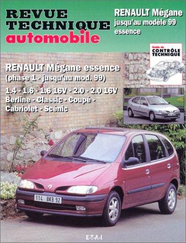 Renault Mégane essence : Mégane, Mégane classic, Mégane coupé, Mégane Scéni