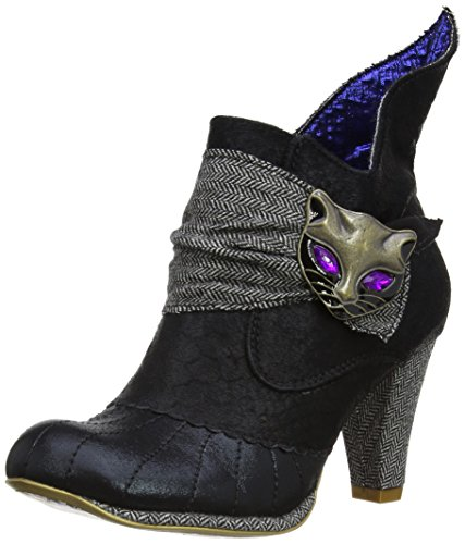 Irregular Choice - Stivali, Donna, Multicolore (Black/Grey), 36