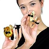 Wgwioo Ballerini Di Dito Di Danza Del Ventre Strumento Musicale Percussione Plus Zills Di Rame . Gold . 10