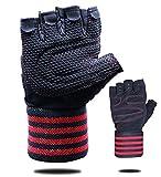 PROZADA Premium Fitness Handschuhe, Trainingshandschuhe für Kleingeräte und Krafttraining - Atmungsaktiv | Schnelltrocknend | Krafttraining, Bodybuilding, Kraftsport, Gym Workout Gloves(XL)