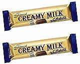 #9: Whittakers Creamy Milk Chunks, 50g …(Pack of 2)