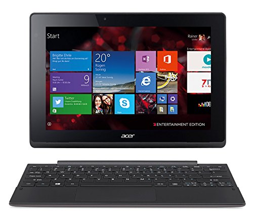 Acer Aspire Switch 10 E (SW3-013) 25,6 cm (10,1 Zoll HD IPS) Convertible Notebook (Intel Atom Z3735F, 2GB RAM, 32GB eMMC, Intel HD Graphics, Win 8.1) grau (Acer Aspire Switch 10)