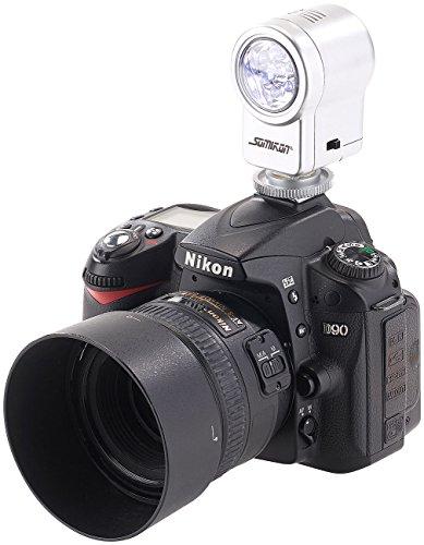 Somikon Foto-Lampen: LED-Leuchte für Foto- und Videoaufnahmen, 3,5 W, 50 lm (Foto- und Video-Flächenleuchte)