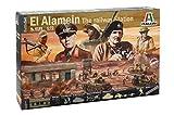 Italeri 6181 1:72 WWII: EL Alamein Battle Railway St -