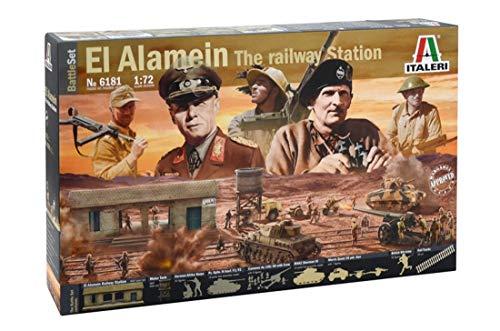Italeri 6181 - Battleset: WWII El Alamein War Model Kit  Scala 1:72