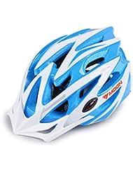 HYF-Aegis Azul Juegos Paralímpicos de EPS Casco de la edición conmemorativa, alta resistencia de la intensidad de choque Casco integrado de alta temperatura Casco de la bici de la montaña Equipo de deportes