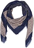 Calvin Klein Damen Schal CK Allover Check Scarf, Blau (Dark Navy 448), One Size