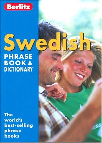 Swedish phrase book dictionary