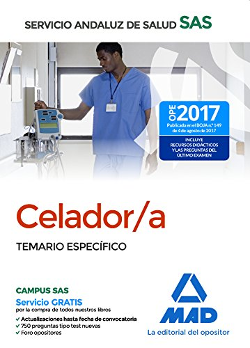 Celador del Servicio Andaluz de Salud. Temario Específico