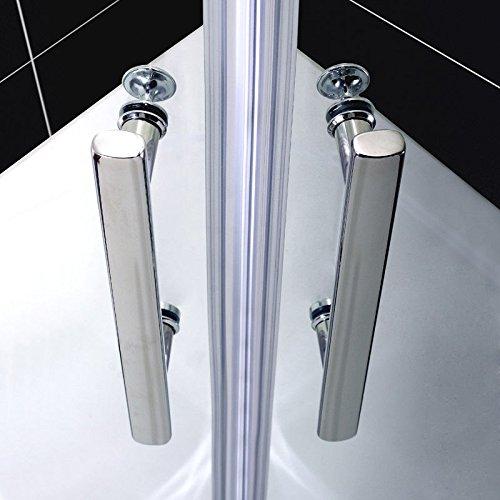 Duschkabine – Viertelkreis – Falttür – Runddusche – Duschabtrennung - 4