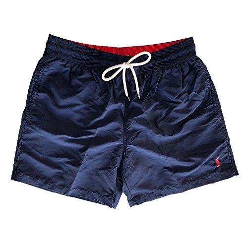Polo Ralph Lauren Traveler Short Badehose Swim Shorts (M, Navy (005))
