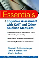 Kaufman Tests Essentials (Essentials of Psychological Assessment)