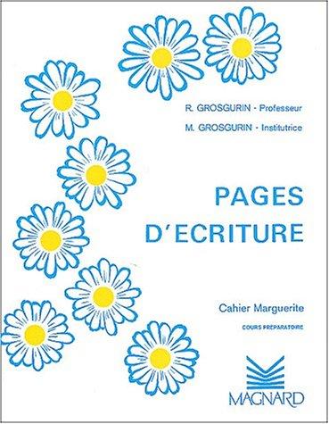 Cahier plume : marguerite CP par Grosgurin