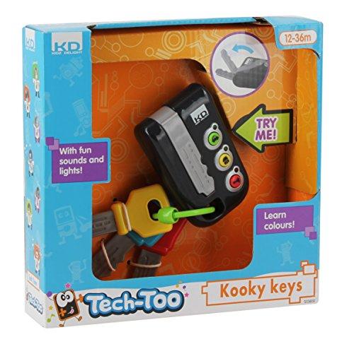 Preisvergleich Produktbild Tech Too DES13810 Meine ersten Schlüssel, Lernspielzeug