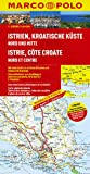 MARCO POLO Karte Istrien, Kroatische Küste Nord und Mitte 1:200.000 (MARCO POLO Karten 1:200.000)