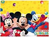 Amscan Playful Mickey Table Cover Party Accessory