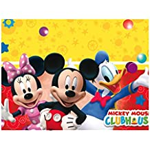 Perona - Mantel plástico 120 x 180 cm, Mickey Mouse ( 50866)