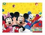 Procos 81511 - Tovaglia plastica Mickey Mouse Club House (120x180 cm)