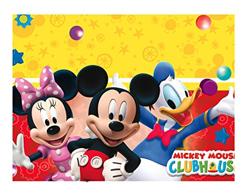 Disney Micky Maus Clubhouse Party Tischdecke Plastik 120x180cm (Disney Mickey Mouse Clubhouse)