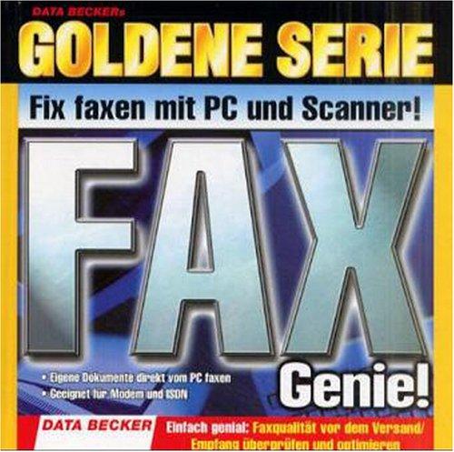 Goldene Serie. Fax Genie. CD- ROM für Windows ab 95 und NT4/2000