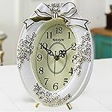 Orologio orologio orologio in legno muto letto retro camera da letto