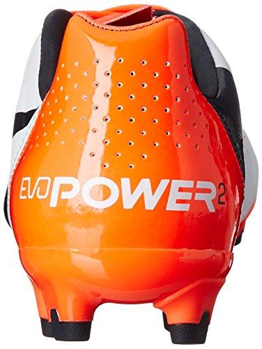 Puma Evopower 2.2 Firm Ground Soccer Bitta White/Total Eclipse/Lava Blast