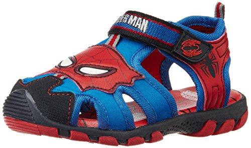 Spiderman Boy's Bla kidsk and Blue Sandals and Floaters - 4 kids UK/21 EU