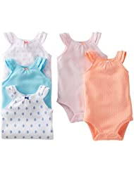Carter's 5 Pack Ruffle Bodysuits - Assorted-3 Months Color: Assorted Size: 3 Months (Baby/Babe/Infant - Little ones)