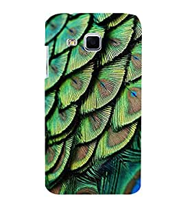 peacock feathers pattern 3D Hard Polycarbonate Designer Back Case Cover for Samsung Galaxy J3 :: Samsung Galaxy J3 J300F